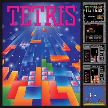 Tetris Gaming Poster 750 Piece Puzzle