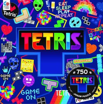 Tetris Collage 750 Piece Puzzle