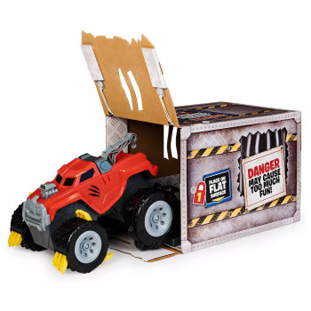The Animal - Interactive Unboxing Toy Truck with Retractable Claws, Lights and Sounds