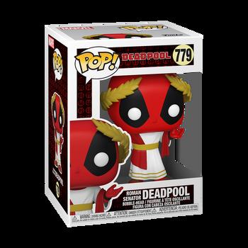Funko Marvel: Deadpool 30th Roman Senator Deadpool Pop! Vinyl Figure