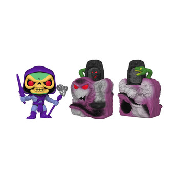 Funko Masters of the Universe Snake Mountain with Skeletor Pop! Town