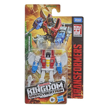 Transformers Generations Kingdom Core Starscream 3.5 Inch Action Figure