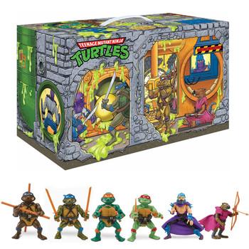 Teenage Mutant Ninja Turtles Sewer Lair Rotocast Action Figure 6-Pack - Previews Exclusive
