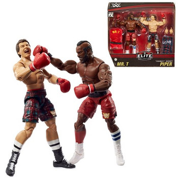 """WWE Elite Collection Mr. T And """"Rowdy"""" Roddy Piper Action Figure 2-Pack"""