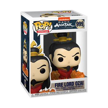 Funko Avatar: The Last Airbender Fire Lord Ozai Pop! Vinyl Figure