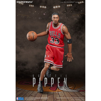 NBA Scottie Pippen Version 2 Real Masterpiece 1:6 Scale Action Figure