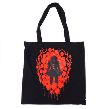 IT Pennywise Time To Float Canvas Tote