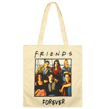 Friends Forever Canvas Tote