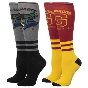 Harry Potter Gryffindor 2 Pair Knee High Socks