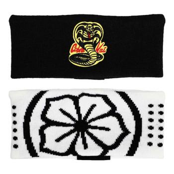 Cobra Kai Dojo Knit Headband 2 Pack