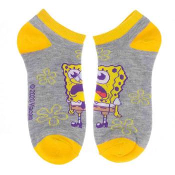 Spongebob 5 Pair Ankle Socks