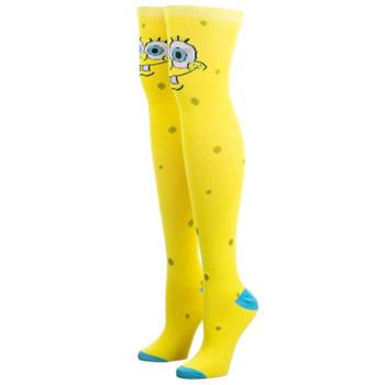 Spongebob Over The Knee Socks