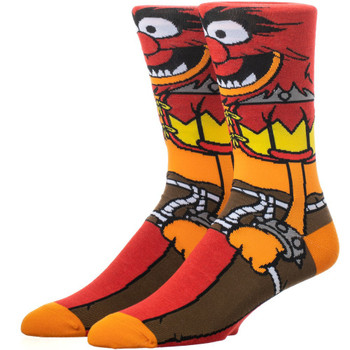 The Muppets Animal 360 Character Crew Socks