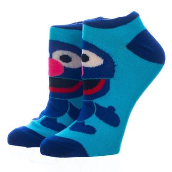 Sesame Street Chibi Character 5 Pair Ankle Socks