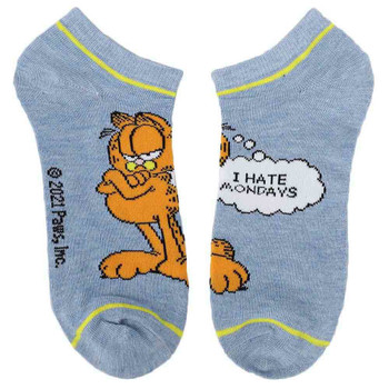 Garfield 5 Pair Ankle Socks