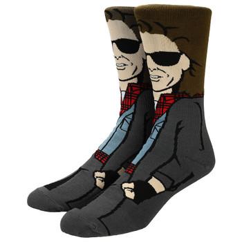 The Breakfast Club John 360 Character Mens Crew Socks