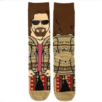 The Big Lebowski The Dude 360 Character Mens Crew Socks