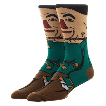 Wizard Of Oz Scarecrow 360 Character Socks