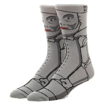 Wizard Of Oz Tin Man 360 Character Socks