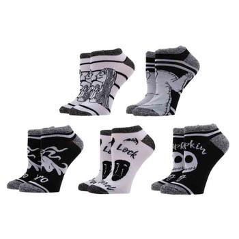 The Nightmare Before Christmas 5 Pair Ankle Socks