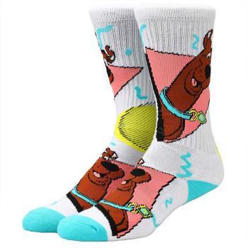 Scooby Doo Retro Toss Crew Socks