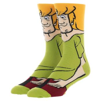 Scooby Doo Shaggy 360 Character Crew Socks