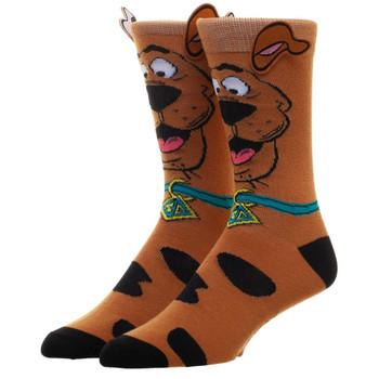 Scooby Doo Novelty Ears Crew Socks