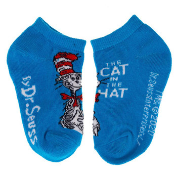Dr. Seuss Book Covers Youth 6 Pack Pack Ankle Socks