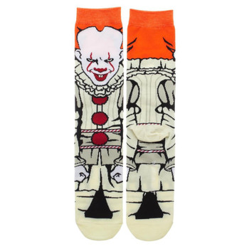 Classic Films It Penneywise 360 Character Crew Socks