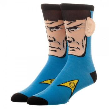 Star Trek Spock Crew Socks With Ears