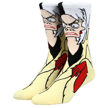 Disney Cruella 360 Character Socks