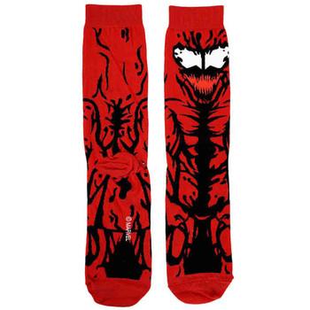 Marvel Carnage 360 Character Socks