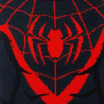 Marvel Miles Morales Spiderman 360 Character Crew Socks