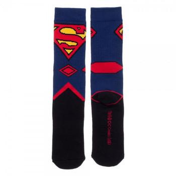DC Comics Superman Suit Up Crew Socks