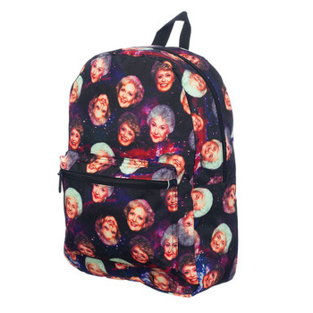 Golden Girls AOP Galaxy Laptop Backpack