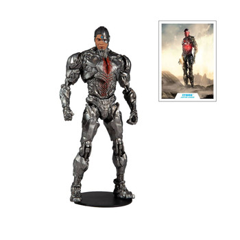 DC Zack Snyder Justice League Cyborg 7-Inch Action Figure