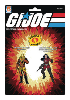 G.I. Joe Destro and Baroness Pin Set 2-Pack - SDCC 2021 Previews Exclusive