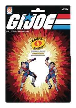 G.I. Joe Tomax and Xamot Pin Set 2-Pack - SDCC 2021 Previews Exclusive