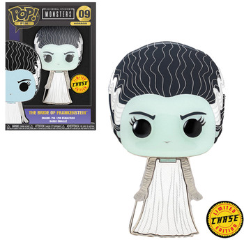 Funko Universal Monsters Bride of Frankenstein Large Enamel CHASE Pop! Pin