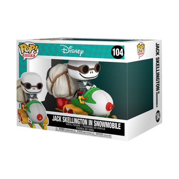 Funko The Nightmare Before Christmas Jack with Goggles and Snowmobile Pop! Vinyl Vehicle