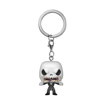 Funko Nightmare Before Christmas Jack Scary Face Pocket Pop! Key Chain