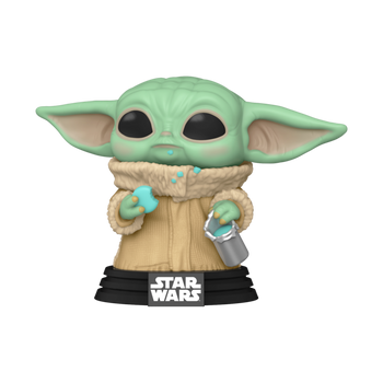 Funko Star Wars: The Mandalorian The Child with Cookie Pop! Vinyl Figure
