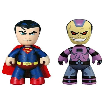DC Universe Mini Mez-Itz Superman and Mongul Figures 2-Pack