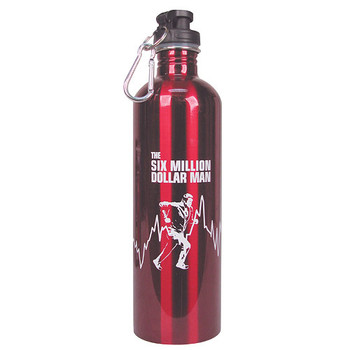 The Six Million Dollar Man 750 ml Water Bottle