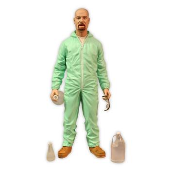 Breaking Bad Walter White PX Blue Hazmat Suit Action Figure