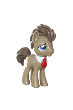 My Little Pony Friendship is Magic Dr. Whooves Red Tie Vinyl Figure