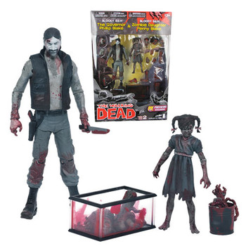 The Walking Dead Comic Series 2 B&W Bloody Governor & Penny 2-Pack
