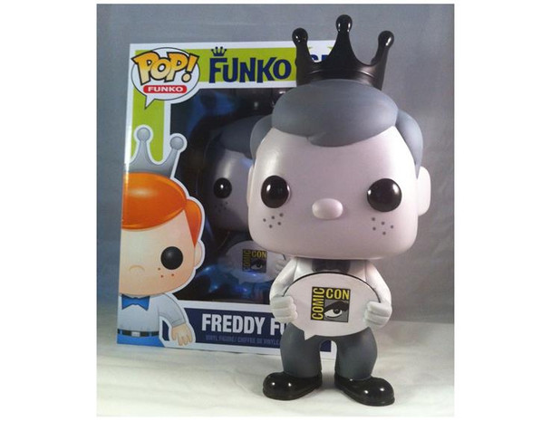 Freddy Funko 9-inch Pop Vinyl Black & White SDCC 2013 Exclusive
