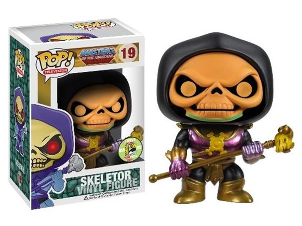 Masters of the Universe Skeletor Pop! Disco Vinyl Figure SDCC 2013 Exclusive