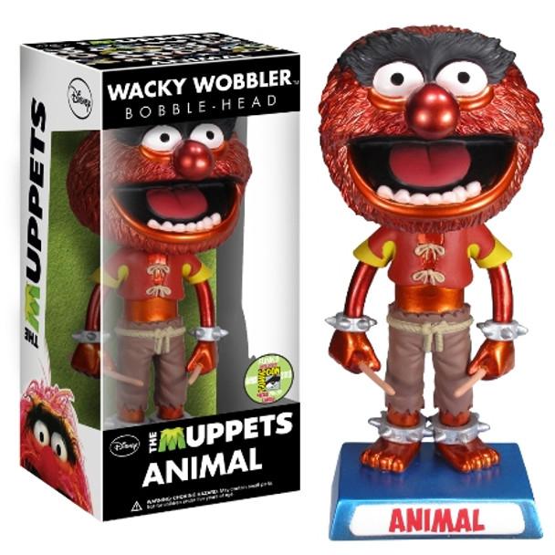 Muppets Wacky Wobbler - Animal Metallic SDCC 2013 Exclusive